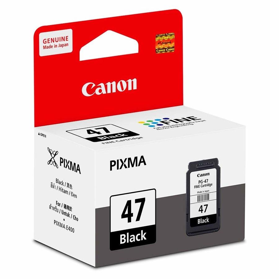 Canon PG-47 Black Siyah Orijinal Mürekkep Kartuş