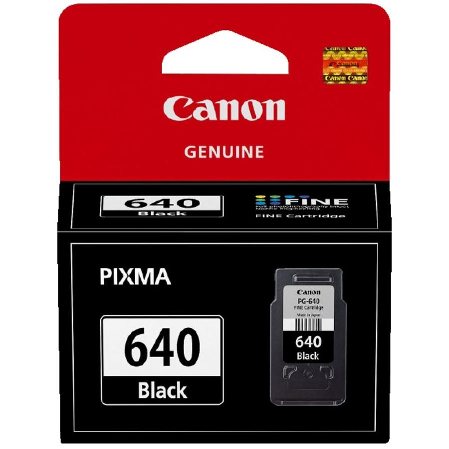 Canon PG-640 Black Siyah Orijinal Mürekkep Kartuş