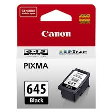 Canon PG-645 Black Siyah Orijinal Mürekkep Kartuş