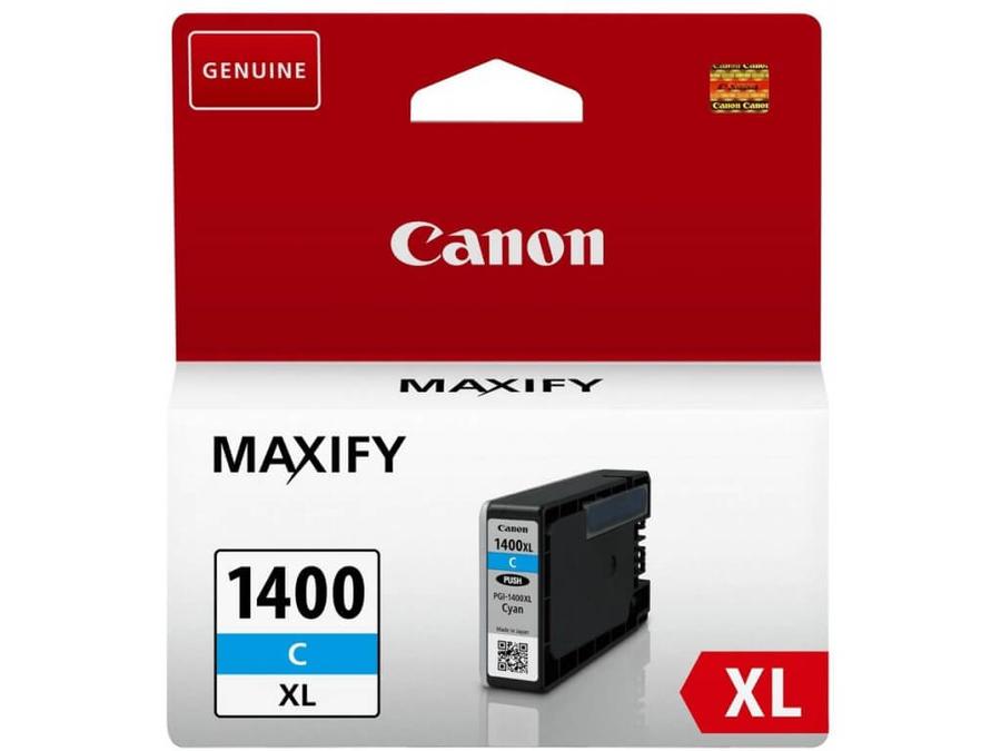 Canon PGI-1400XL C Cyan Mavi Orijinal Mürekkep Kartuş