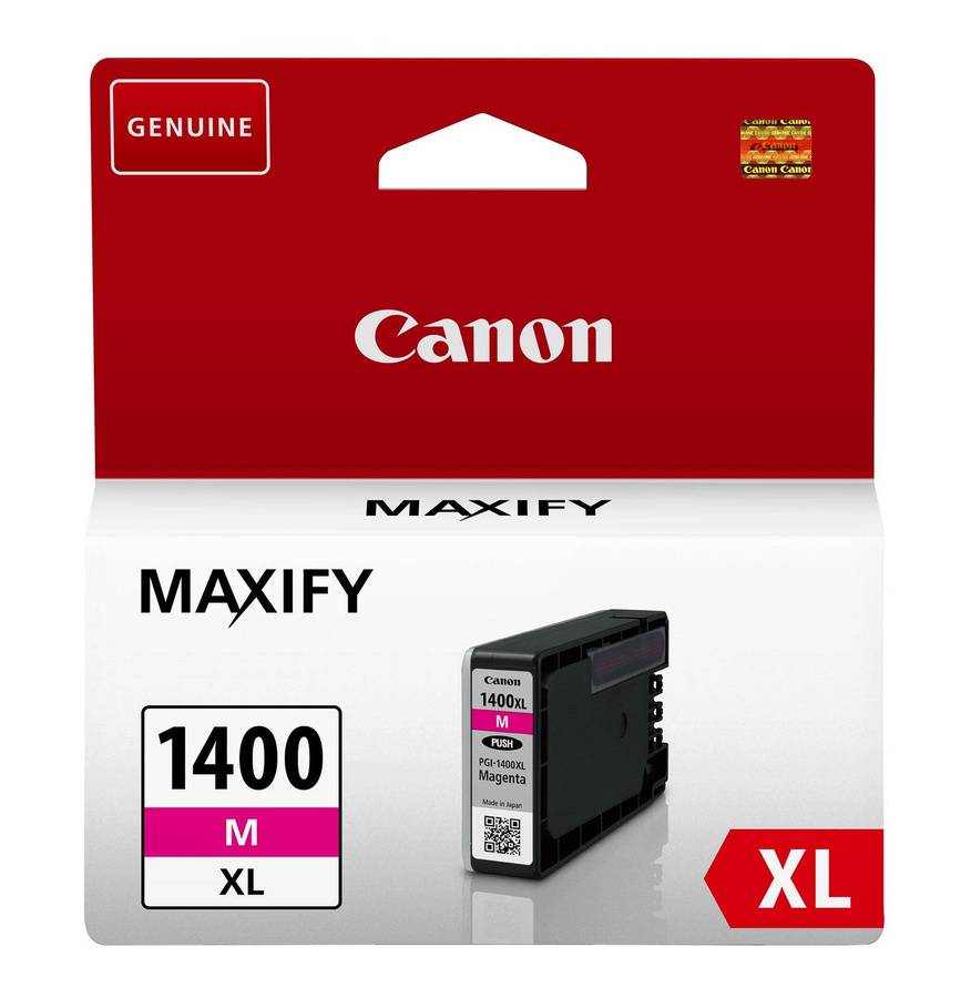 Canon PGI-1400XL M Magenta Kırmızı Orijinal Mürekkep Kartuş