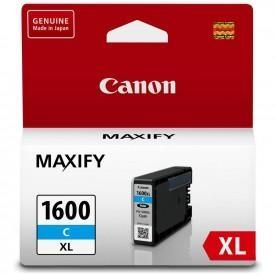 Canon PGI-1600XL C Cyan Mavi Orijinal Mürekkep Kartuş