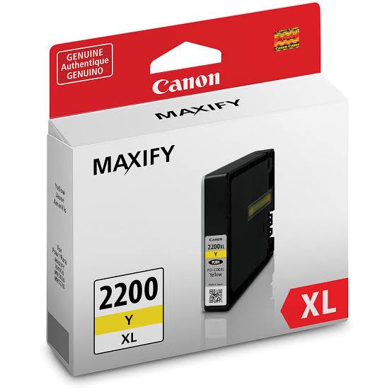 Canon PGI-2200XL Y Yellow Sarı Orijinal Mürekkep Kartuş