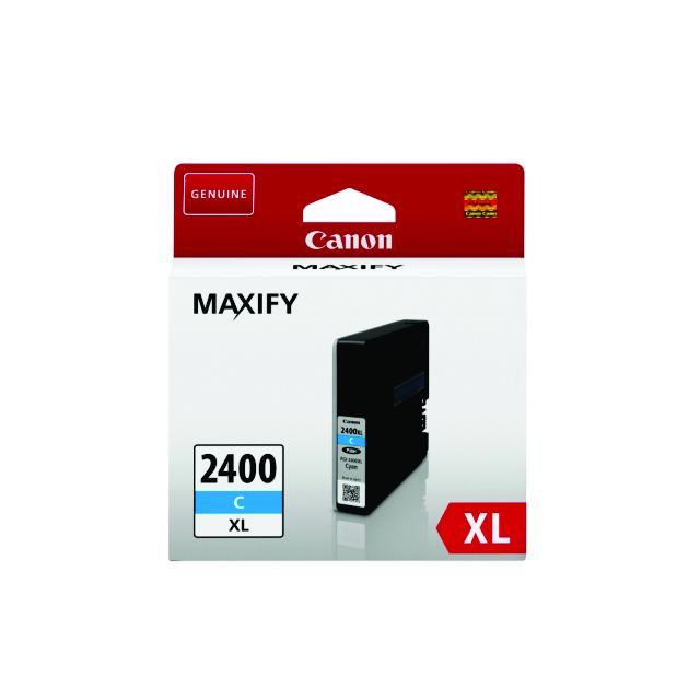 Canon PGI-2400XL C Cyan Mavi Orijinal Mürekkep Kartuş