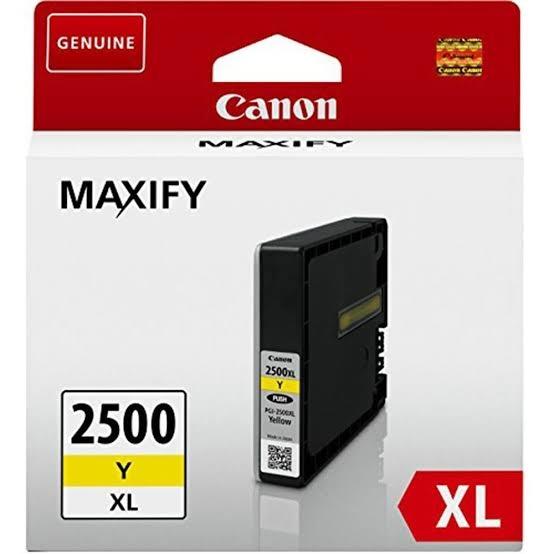 Canon PGI-2500XL Y Yellow Sarı Orijinal Mürekkep Kartuş