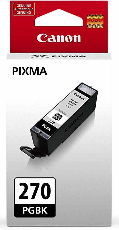 Canon PGI-270 PGBK Black Siyah Orijinal Mürekkep Kartuş