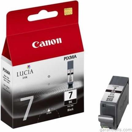 Canon PGI-7 BK Black Siyah Orijinal Mürekkep Kartuş