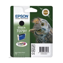 EPSON - Epson T0791 Black Siyah Orijinal Mürekkep Kartuş