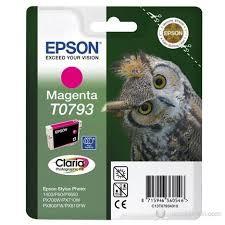 EPSON - Epson T0793 Magenta Kırmızı Orijinal Mürekkep Kartuş