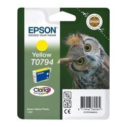 EPSON - Epson T0794 Yellow Sarı Orijinal Mürekkep Kartuş