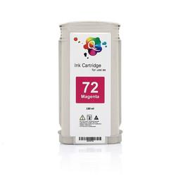 HP - HP 72 C9372A Magenta Kırmızı Muadil Mürekkep Kartuş 130ml
