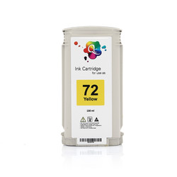 HP - HP 72 C9373A Yellow Sarı Muadil Mürekkep Kartuş 130ml