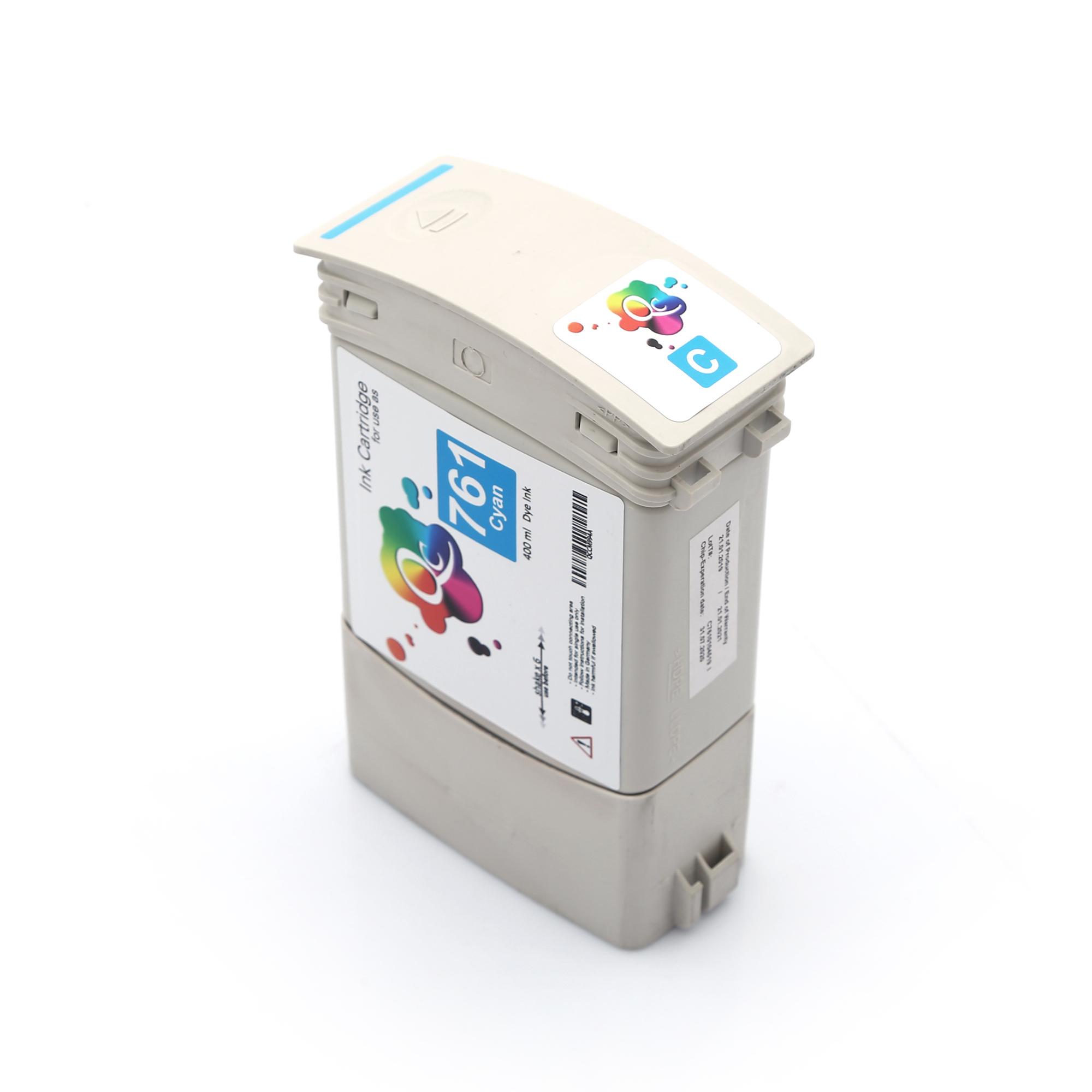HP 761 CM994A Cyan Mavi Muadil Mürekkep Kartuş 400ml