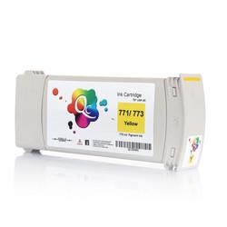 HP - HP 773 C1Q40A Yellow Sarı Muadil Mürekkep Kartuş 775ml
