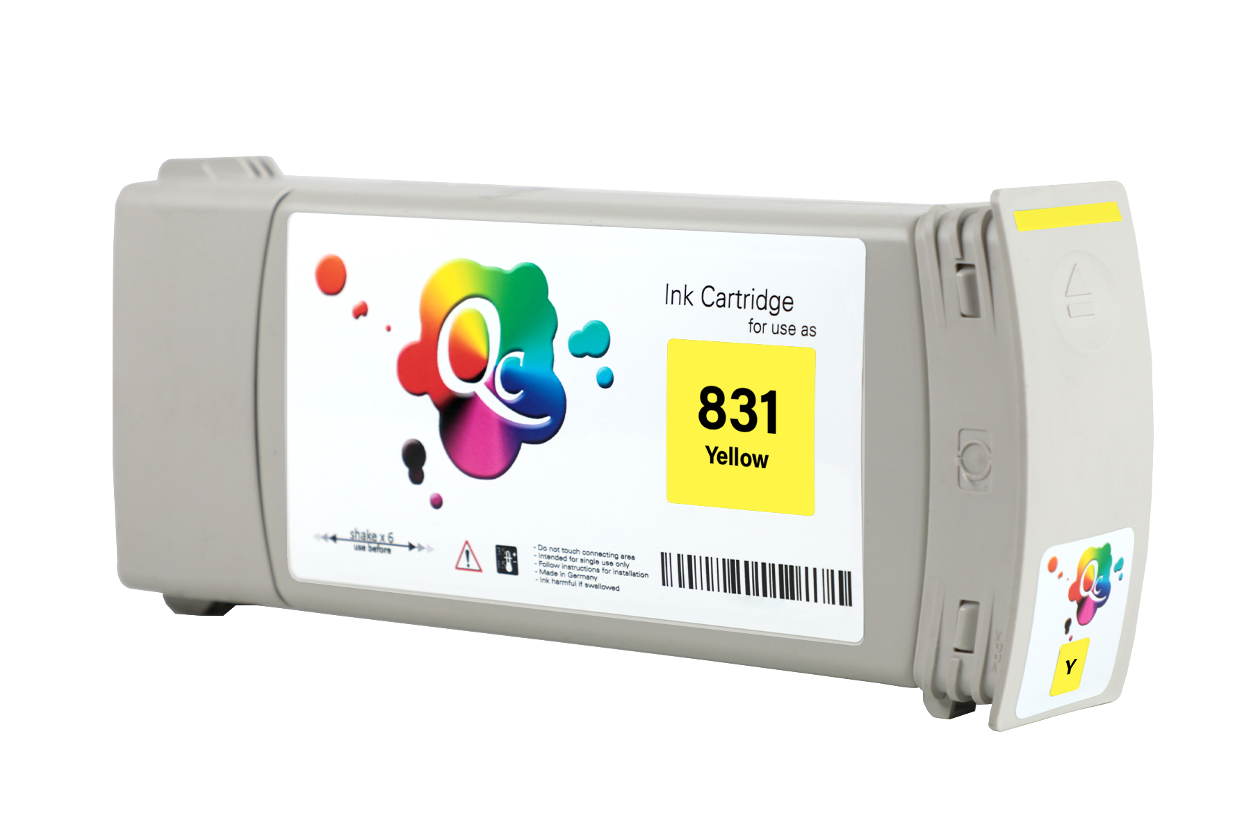 HP 831 CZ697A Yellow Sarı Lateks Muadil Mürekkep Kartuş 775ml