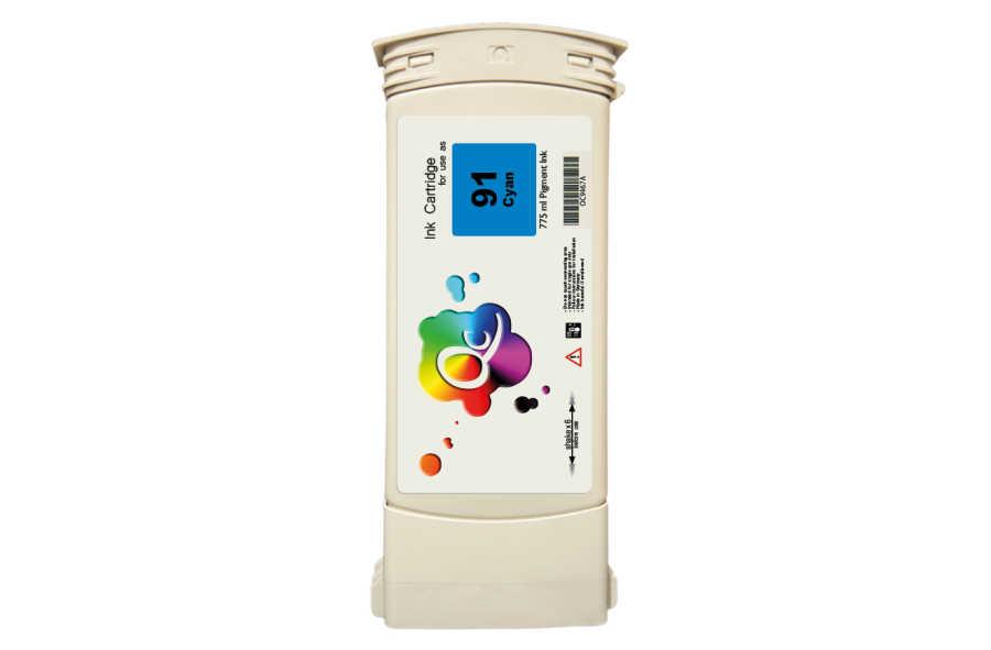 HP 91 C9467A Cyan Mavi Plotter Pigment Kartuş 775ml