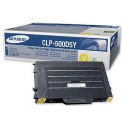 Samsung CLP-500D5Y Yellow Sarı Orijinal Toner Kartuş