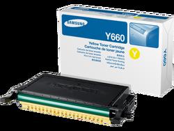 Samsung CLP-Y660A Yellow Sarı Orijinal Toner Kartuş