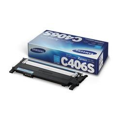 Samsung CLT-C406S Cyan Mavi Orijinal Toner Kartuş