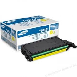 Samsung CLT-Y5082L Yellow Sarı Orijinal Toner Kartuş HC